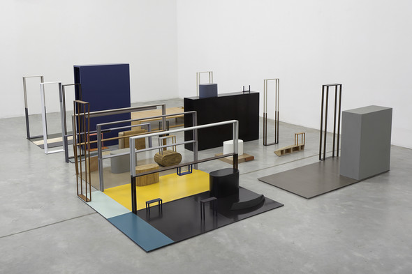 Nahum Tevet: Islands and Objects at Kristof De Clercq gallery