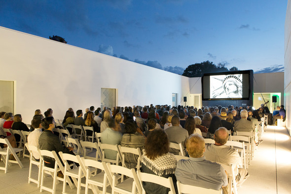 Outdoor film series at Magazzino Italian Art in collaboration with Artecinema